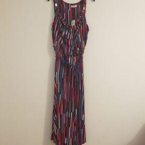 Calvin Kleim Maxi Dress Size 2X